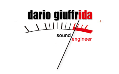 Dario Giuffrida sound engineer